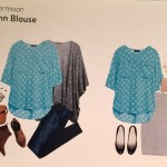 Papermoon Aqua Blouse
